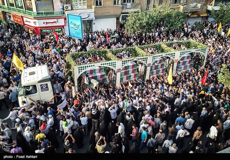 دعوت سپاه تهران از مردم برای شرکت در مراسم تشییع پیکر 135 شهید گمنام
