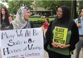 Silent Protest Held in Washington against Racial Discrimination