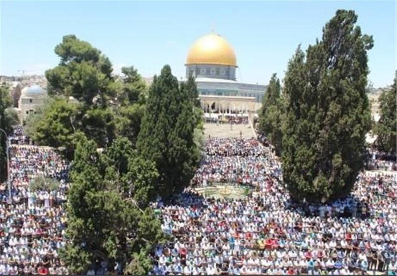 شرطة الاحتلال الصهیونی تعزز قواتها بالمسجد الأقصى عشیة صلاة الجمعة