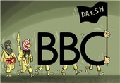 عصبانیت بیبیسی از حمله روسیه به مواضع داعش+ فیلم و تصاویر