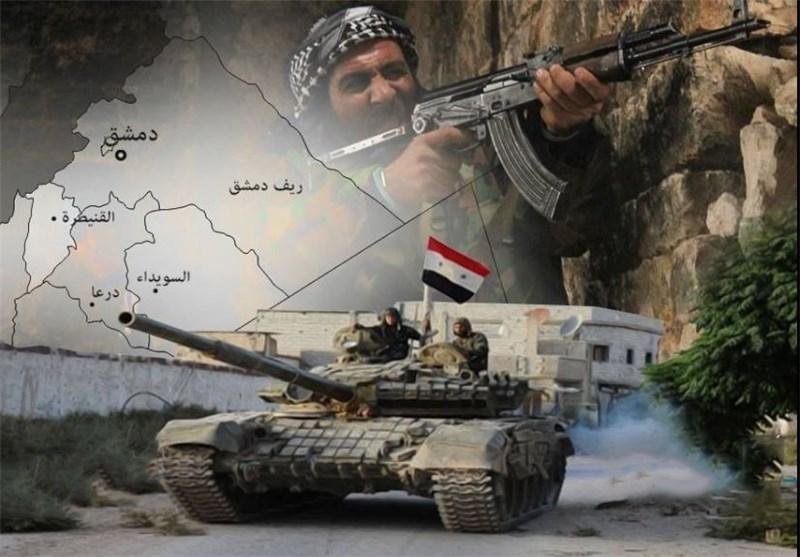 """الجیش السوری یوسع عملیاته ضد """"النصرة"""" بالقنیطرة ویکبد """"داعش"""" خسائر فی دیر الزور"""