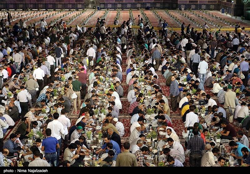 مراسم ضیافت افطاری اصحاب رسانه در قم برگزار شد