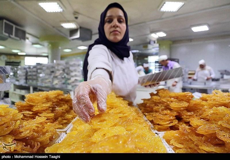 کارگاه پخت و پز زولبیا و بامیه - مشهد