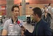 فیلم/ورود تیم والیبال لهستان به ایران