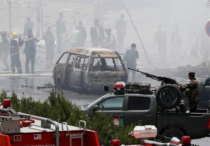 عشرات القتلى والجرحى فی سلسلة تفجیرات هزت کابل أسفرت عن مصرع وجرح أکثر من 410 أشخاص