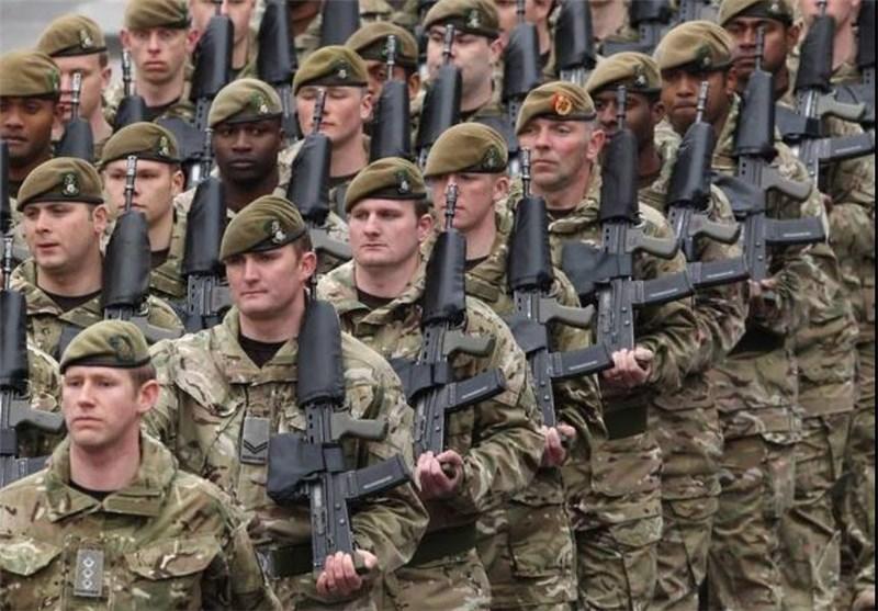 ارتش انگلیس نظامی انگلیس نظامیان انگلیس سرباز انگلیس سرابازان انگلیس