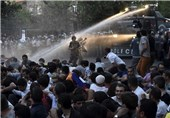 ادامه تظاهرات مردم ارمنستان در اعتراض به افزایش تعرفه برق