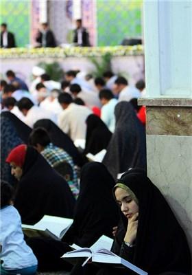 ترتیل خوانی قرآن کریم در ماه مبارک رمضان - کرمان