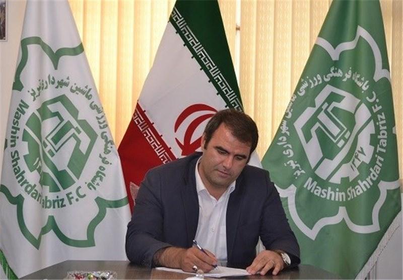 اکبرزاده/مدیرعامل باشگاه ماشینسازی تبریز
