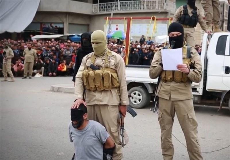 """تنظیم """"داعش"""" الارهابی یحول أکبر الأسواق الشعبیة فی مدینة الموصل العراقیة إلى ساحة إعدام"""