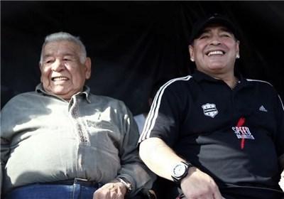 مارادونا و پدرش
