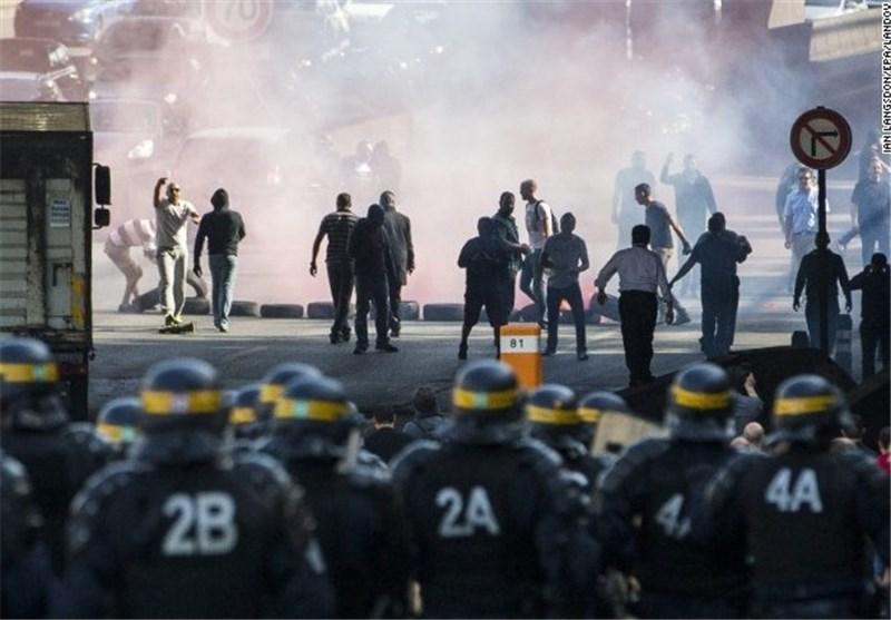 اعتراض شدید تاکسیرانان فرانسوی، آمد و شد پاریس را مختل کرد