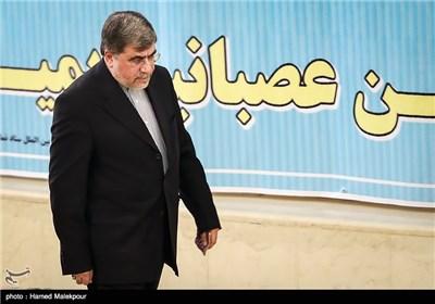 علی جنتی وزیر فرهنگ و ارشاد اسلامی در نماز جمعه تهران