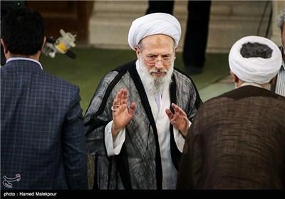 آیتالله محمدی ری شهری در نماز جمعه تهران