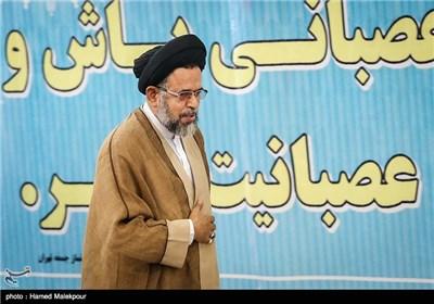 حجتالاسلام سیدمحمود علوی وزیر اطلاعات در نماز جمعه تهران