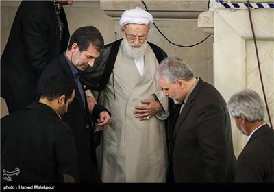 آیتالله محمد امامی کاشانی امام جمعه موقت تهران در نماز جمعه تهران