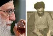 """خاطره """"چای داغ"""" رهبر انقلاب به روایت اینستاگرام ضرغامی"""