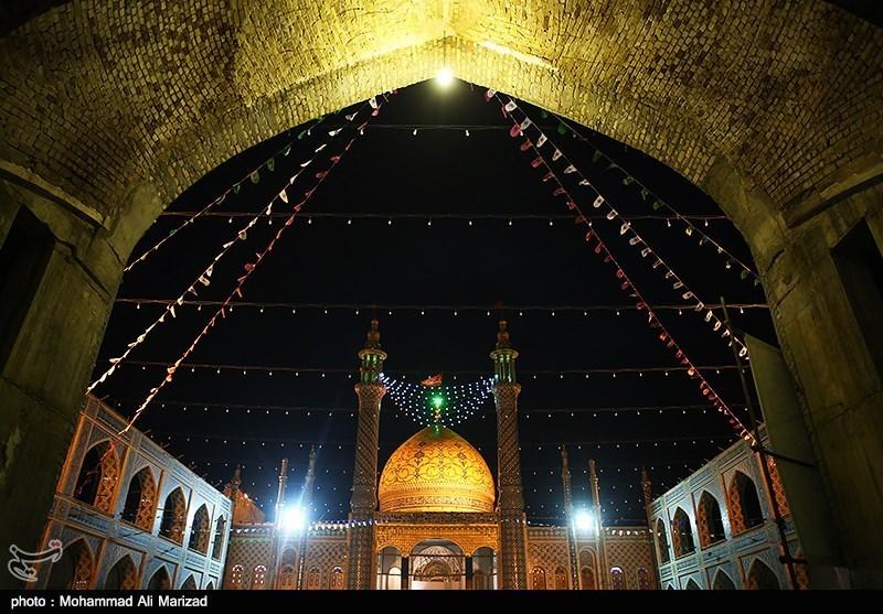 آستان علی بن محمد باقر (ع) مشهد اردهال کاشان غرق در ماتم شد