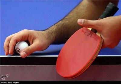 قهرمانی احمدیان در تنیس روی میز تور جهانی تونس