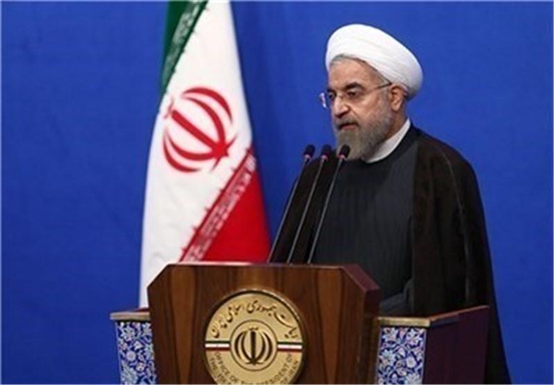 روحانی : ایران لا تفرق بین الشیعة والسنة والمحافظة على الاستعداد الدفاعی ضروری