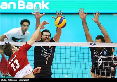 Iran Defeated by Poland Volleyball Team 3-1 in FIVB Match