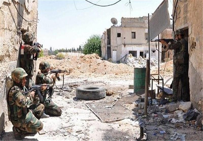 """الجیش السوری یجبر """"داعش"""" على التراجع عن أحیاء الحسکة شمال شرق البلاد"""