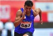 شکسته شدن رکورد ملی 400 متر توسط سجاد هاشمی