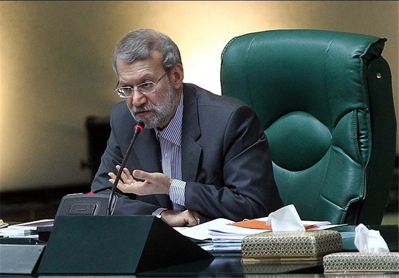 علی لاریجانی صحن مجلس