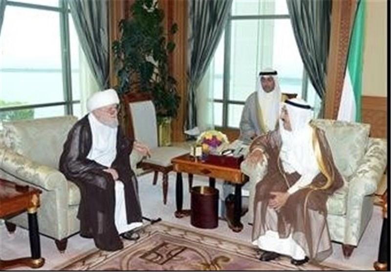 مستشار الامام الخامنئی یبلغ أمیر دولة الکویت تعازی ومواساة ایران الاسلامیة