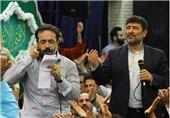 صوت /جشن میلاد امام حسن مجتبی (ع) با نوای محمود کریمی و سعید حدادیان