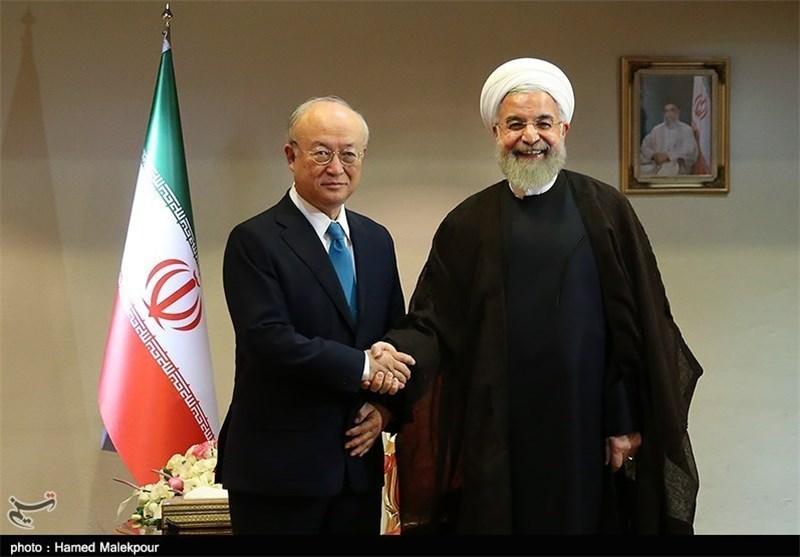 یوکیا أمانو بعد عودته من طهران: توصلنا الى تفاهم افضل