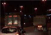 شهرداری هم تردد کامیونها به منطقه 12 را ممنوع کرد