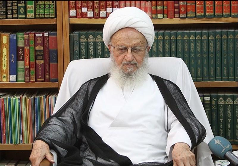 رئیس کمیته امداد با آیتالله مکارم شیرازی دیدار کرد