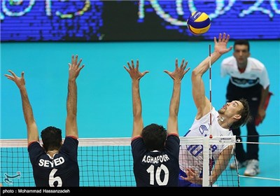 Iran Defeated by Russia in FIVB World League