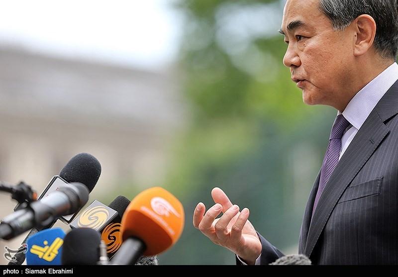 ورود وزیرخارجه چین به محل برگزاری مذاکرات ایران و 1+5 -وین