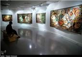 نمایشگاه نقاشیهای مذهبی قهوهخانهای
