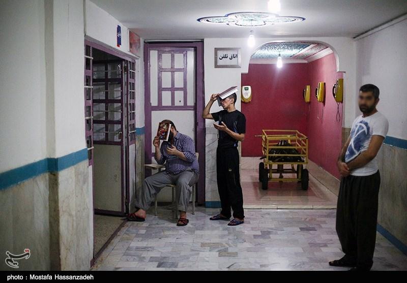 مراسم احیای شب بیست و یکم ماه رمضان در زندان امیر آباد - گرگان