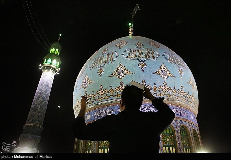 مراسم احیای شب بیست و یکم ماه رمضان - قم و اهواز