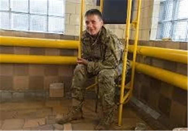 خلبان زن ا وکراینی
