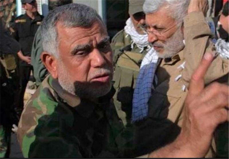 القائدین المیدانیین العامری والمهندس على مشارف الفلوجة العراقیة للأشراف على تحریرها