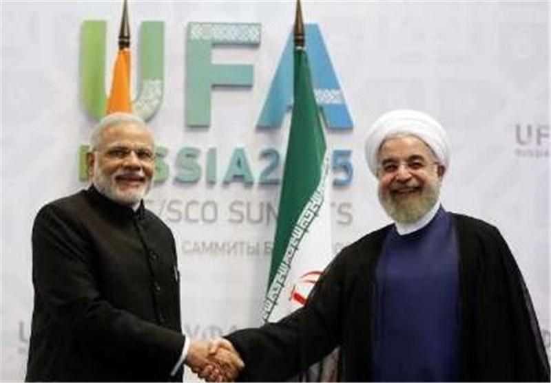 روحانی و رئیس وزراء الهند