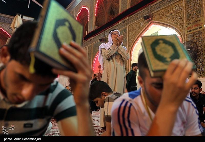 مراسم احیای شب بیست و سوم ماه رمضان در حرم حضرت علی(ع) - نجف
