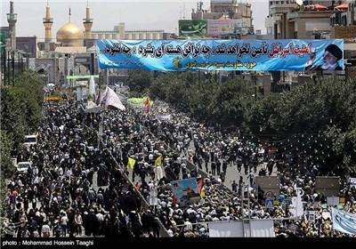 مسیرات یوم القدس - مشهد و اراک