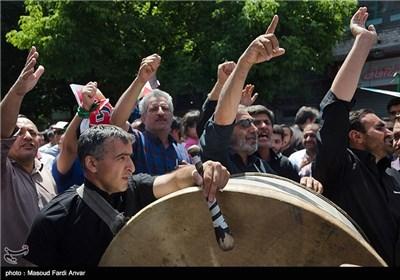 مسیرات یوم القدس - تبریز، اردبیل ، ارومیه و همدان