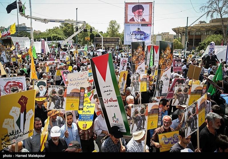 راهپیمایی روز قدس - تهران(2)