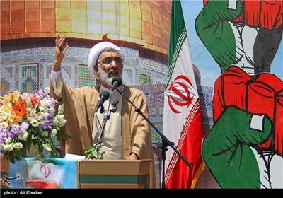 كلمة حجة الاسلام بورمحمدی وزیر العدل في مسیرات یوم القدس - اصفهان