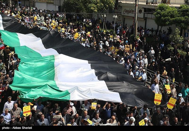 راهپیمایی روز قدس - البرز