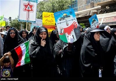 مسيرات يوم القدس - یزد، زاهدان و ایلام