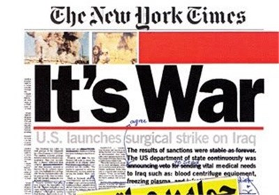 روایتی شنیدنی از رابطه اربابان قدرت و رسانه در جنگ آمریکا علیه عراق