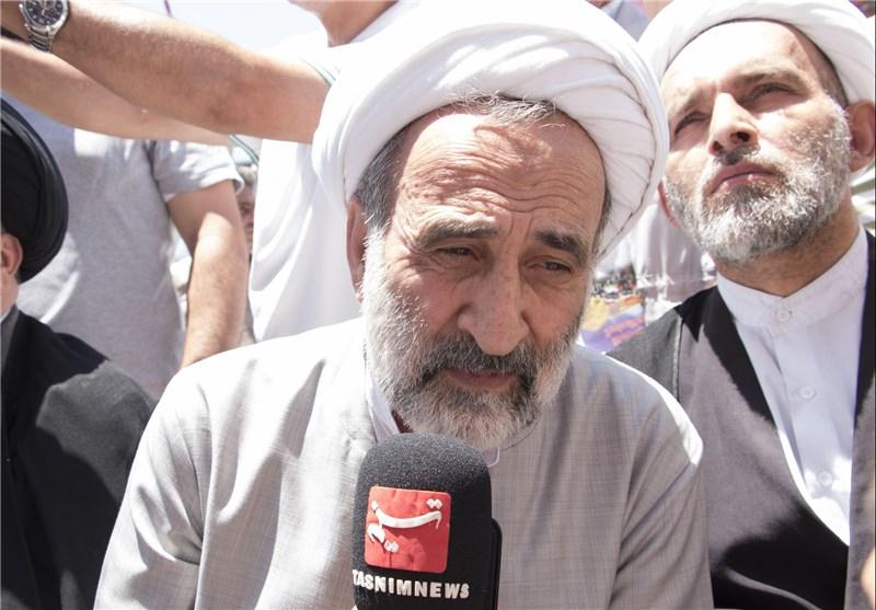الشیخ الحلباوی: القدس هی رمز لکل مقدس وسنستعید فلسطین رغم أنف کل أعداء الأمة